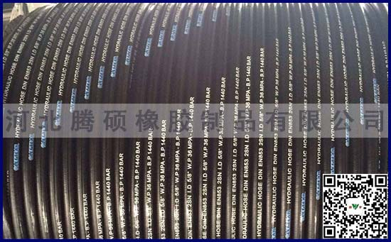 特色钢丝编织高压胶管