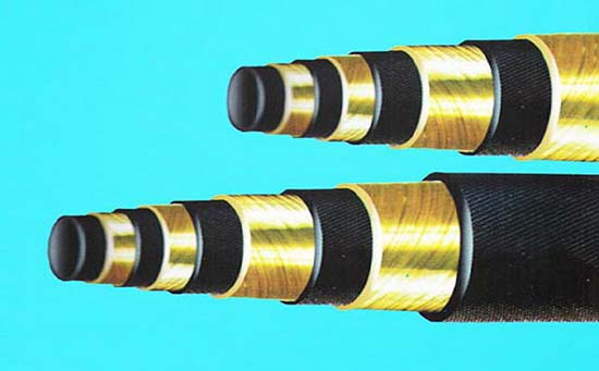 铠装耐高温高压胶管